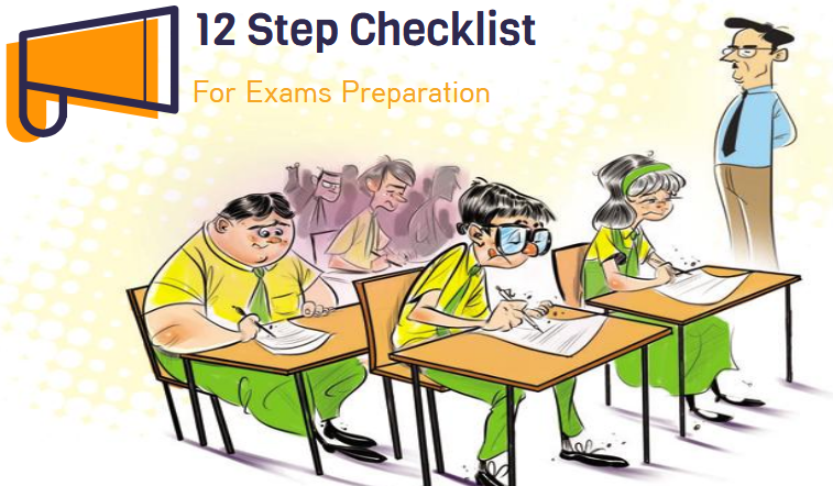Checklist for exams