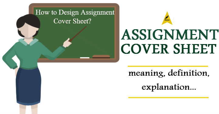 Assignment Cover Sheet