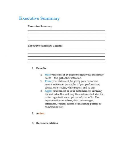 Executive Summary Examples How To Write An Executive Summary Goassignmenthelp Blog