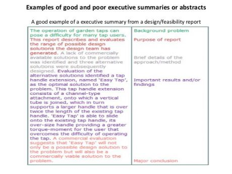 executive-summary-assignment